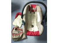 JEEP BABY CAR SEAT - ONLY USED A COUPLE OF TIMES