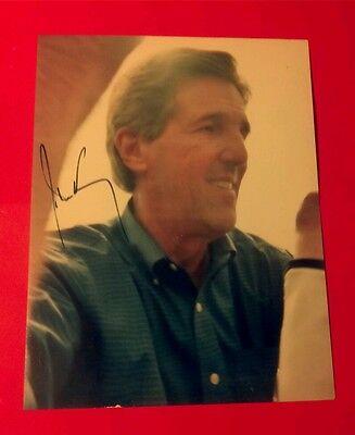"""John Kerry""... signed color photo!!!...Ultra Rare!!!"