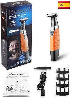 Cocoda Afeitadora Electrica de Barba Mojado/Seco, USB Recargable Hombre y Mujer