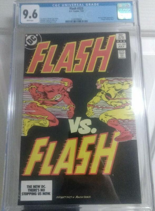 Flash #323 CGC 9.6 1983 1248398008