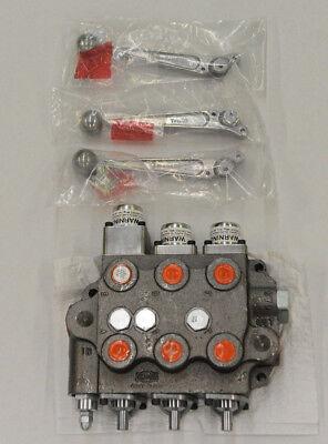 Sbaf22 Triple Spool Cross Hydraulic Valve Wfloat Kubota Case Ford John Deere