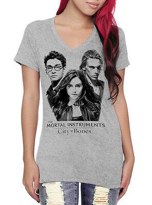 The Mortal Instruments: City Of Bones V-Neck T-Shirt Clary Jace Simon Hot Topic ()