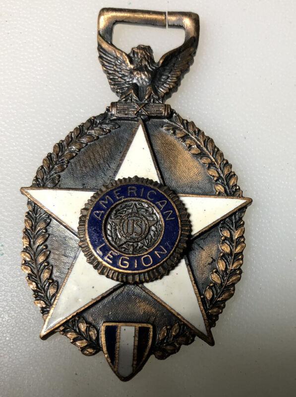 1928 American Legion 10th Annual Convention San Antonio Vintage Fob Medallion