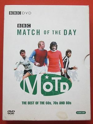 Match of the Day Soccer Football DVD the Best of 60s, 70s and 80s