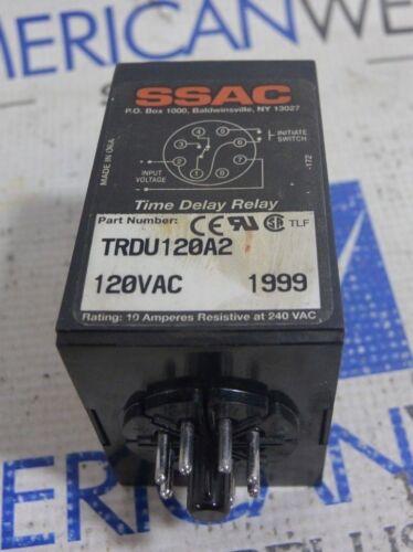 SSAC TRDU120A2 Time Delay Relay 120VAC