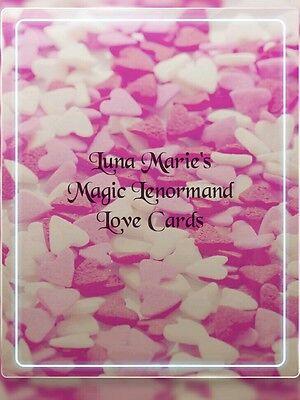 """*Neu* Beziehungskarten - Magic Lenormand Love Cards SET ©"""" auch für Anfänger*"""