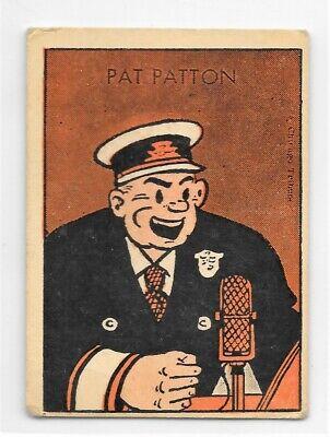 1952 Tip Top Bread Card - Dick Tracy Set - Pat Patton - WJAR TV - TOUGH