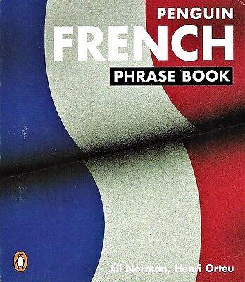 The Penguin FRENCH PHRASE BOOK ~ New Edition  ~ ORIGINAL COST $7.00