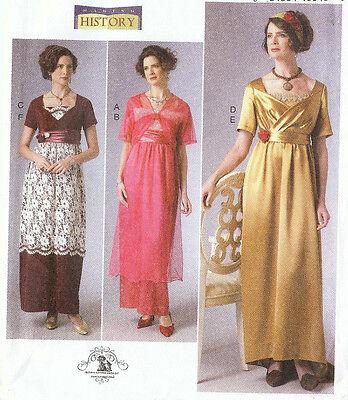 PATTERN for Titanic Era Butterick 6190 Edwardian Historical dress 6-22 Abby (Era Costumes)