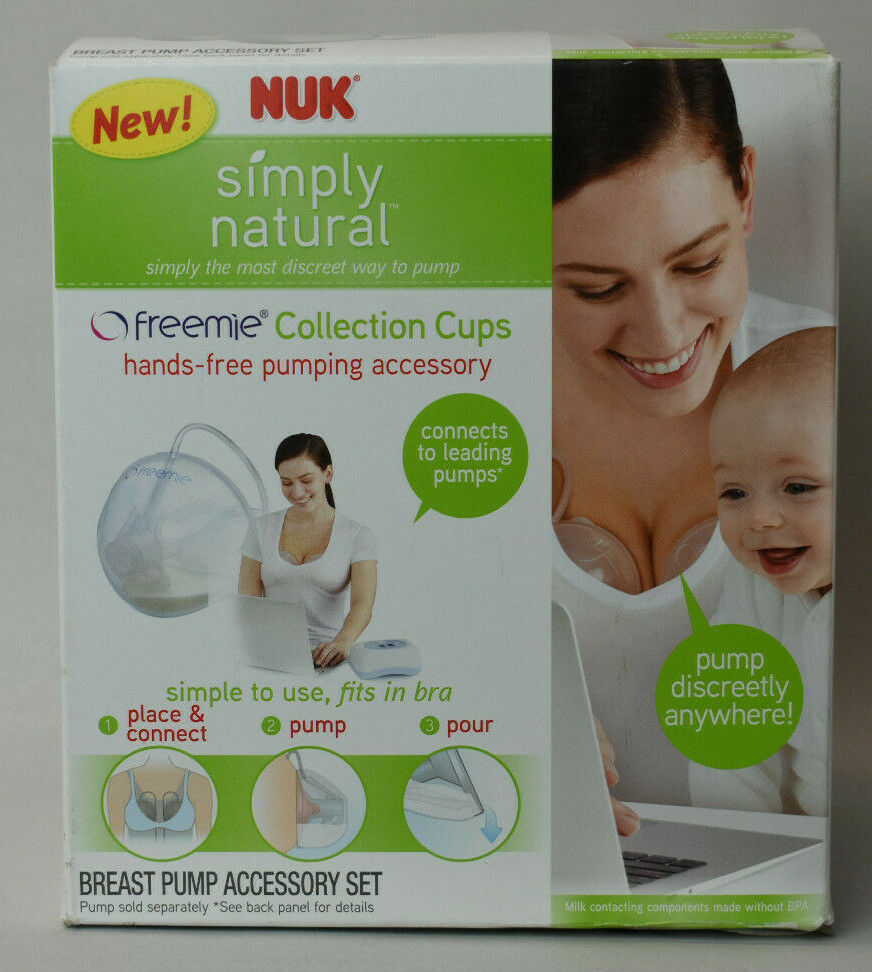 Nuk Simply Natural Freemie Collection Cups Breast Pump Accessory Set - $35.00