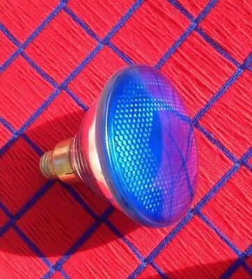 NEW blue 150 WATT PAR38 outdoor flood LIGHT BULB 150PAR38 incandescent 120v USA ()
