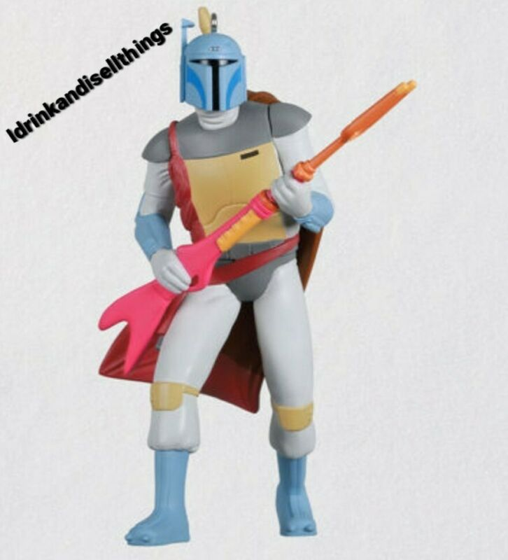 Star Wars Bobba Fett Ornament Hallmark Exclusive SDCC 2021 Free Ship Preorder