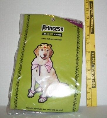 Dog And People Costumes (DOG ONE SIZE PRINCESS HALLOWEEN COSTUME FOR CANINES AND DOGS NOT)