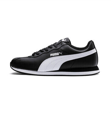 New Puma Turin II All White Leather Men's Training Running Gym Casual Shoes 7.5