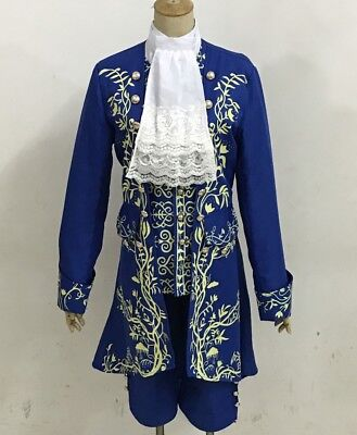 Movie Prince Beauty and The Beast cosplay costume Halloween for adult