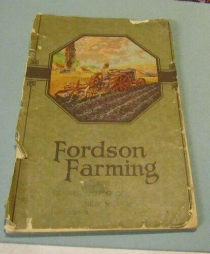1922 Fordson Farming Equipment Advertising Catalog Oliver Plows Photos 72pg