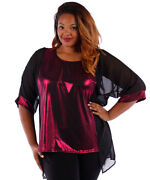 Plus Size Holiday Blouses