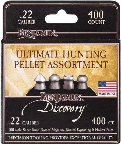 Benjamin 22BHPA Ultimate Hunting Pellet Assortment .22 Caliber