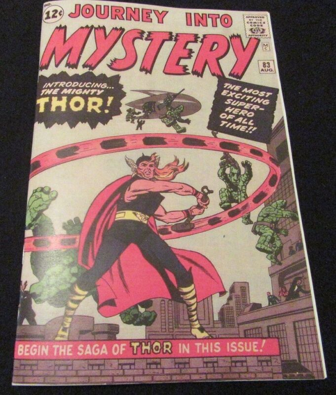 Journey into Mystery #83 1st Mighty Thor Silver-Age Facsimile Comic