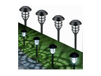 8 Pack Solar Pathway Lights Outdoor brand new