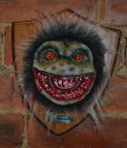 Critter Trophy Head Mounted horror Halloween prop replica