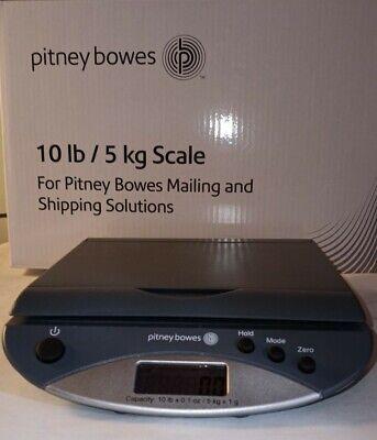 Intertek Pitney Bowes 10 Lb Scale Usb9 Volt Power Model Xj-6k809 Lbkg Mode