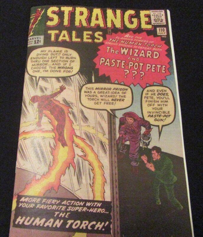 STRANGE TALES #110 1st Doctor Strange Silver-Age Facsimile Comic