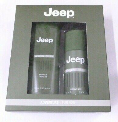 Jeep Adventure confezione regalo uomo docciashampoo e deodorante