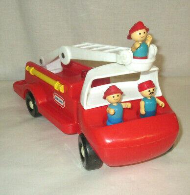 Vintage Little TIkes Toddle Tots Fire Truck & 3 Figures