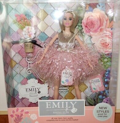 Emily Rising Star Fashion Classics Barbie Doll with Accessories New