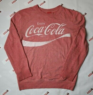 Coca Cola Sweater Adult Small Red Classic