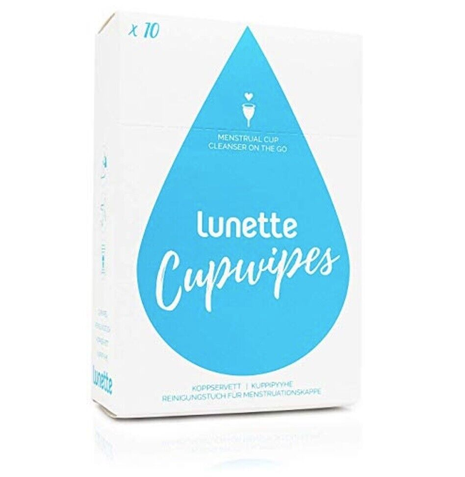 Lunette Menstrual Cup Wipes - 2 pack 10ct each Feminine Care