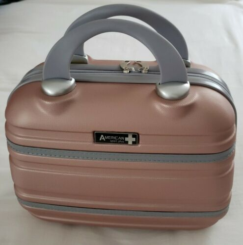 NEW American Sport Plus Varsity 11 Cosmetic Makeup Beauty Travel Hard Case. - $58.00