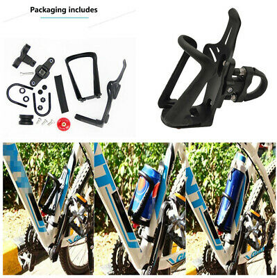Universal Motorcycle Bike Retractable Cup Holder Water Bottle Cage Mount Bracket ()