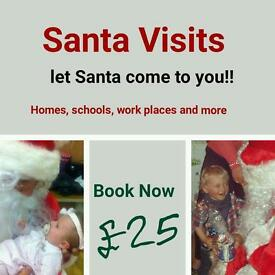 SANTA visits for central belt