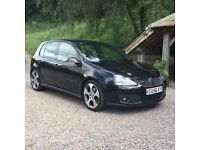 "2006 56 VW VOLKSWAGEN GOLF GTI MK5 DSG 2.0 BLACK FULL LEATHER 18"" WHEELS SAT NAV AIR CON"