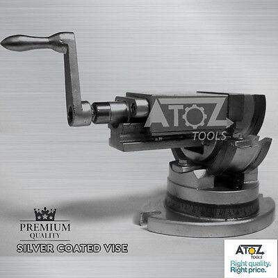 Premiumo 3 Way Precision Milling Machine Vise 250 Mm-swiveltiltangle Vice