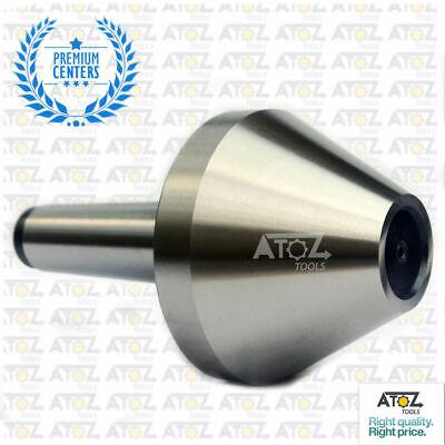 Mt3 Revolving Live Center Bull Nose Capacity 1 - 2 Pipe Tube 3mt