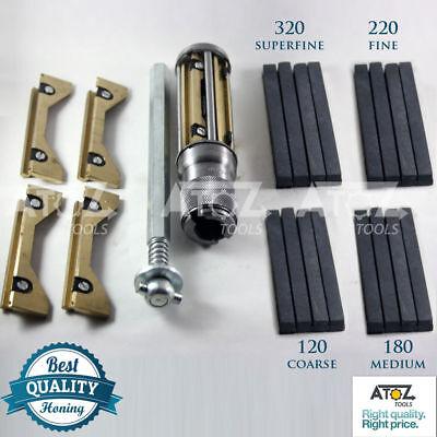 BLOCK Cylinder Engine Hone Kit 34-165mm Honing Machine + 4x Honing Stone PREMIUM (Cylinder Engine Hone Kit)