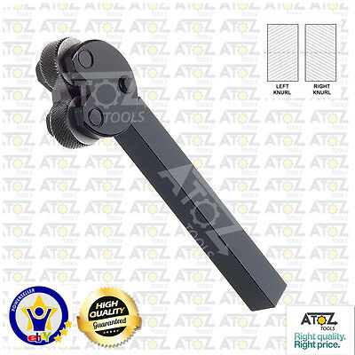 Pivot Head Knurling Tool Brand New 2 Knurls for Lathe Tool Holder