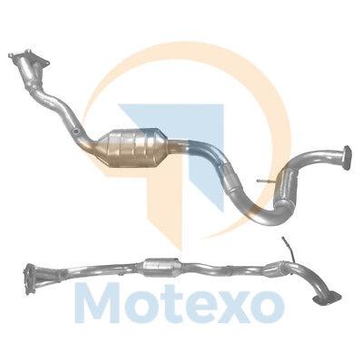 BM90199 Exhaust Petrol Catalytic Converter +Fitting Kit +2yr Warranty