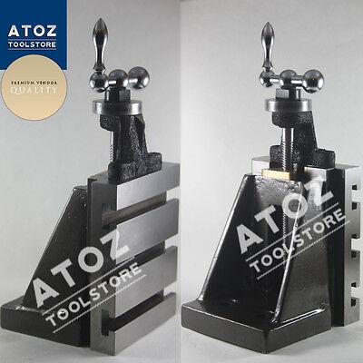 Fixed Vertical Slide 125 X 100mm Tool Post Milling Lathe Machine Premium Quality