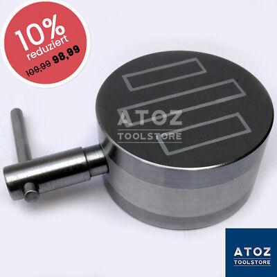 "4"" Magnetspannplatte Radialmagnet  Magnettisch Magnetfutter, dauerhaft ATOZ"