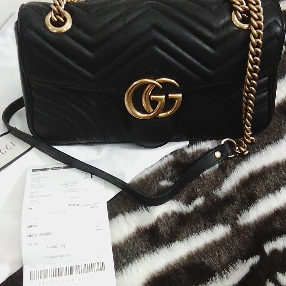 94ce624fe5 Brand new gucci marmont handbag unwanted gift grab a bargain with reciept |  in Redbridge, London | Gumtree