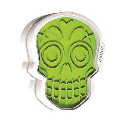 Tovolo Halloween Sugar Skull Cookie Cutter & Design Stamps (Halloween Sugar Cookies Designs)