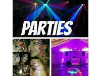 Dj Disco Face Painting Balloons and nore for Parties Weddings and Functions