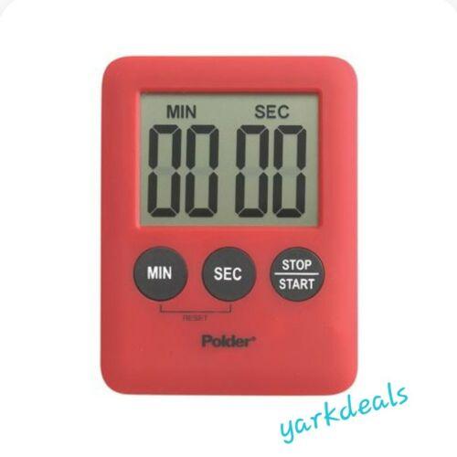 Polder 100-Minute Battery-Powered Digital Kitchen Timer Loud