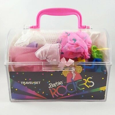 Vintage Barbie and the Rockers Travel Set 1987