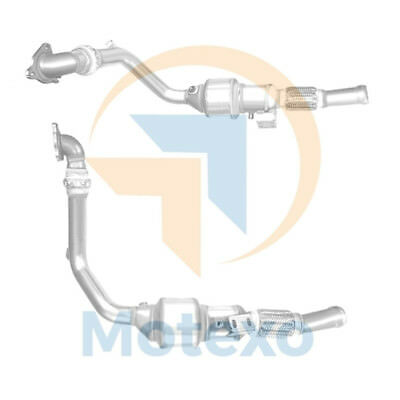 BM80518H Exhaust Approved Diesel Catalytic Converter +Fitting Kit +2yr Warranty