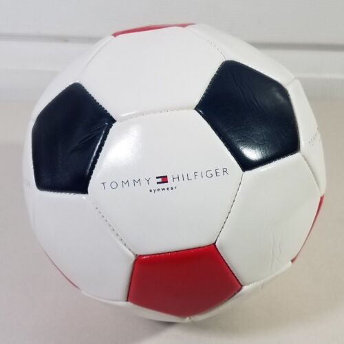 Tommy Hilfiger Flag Logo Colorblock Promotional Soccer Ball NEW Store Display